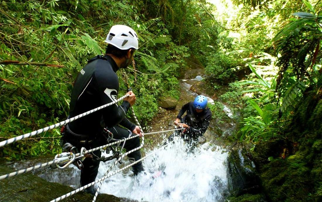 canyoning-banos